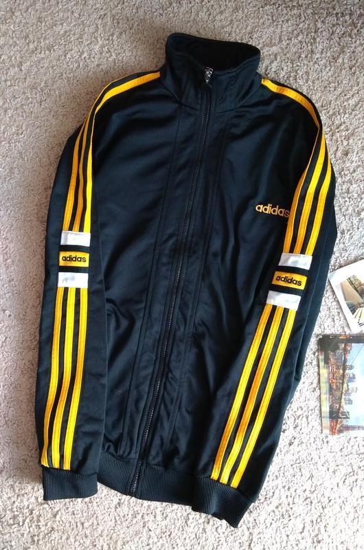 Винтаж adidas кофта мастерка спортивная s - Фото 2