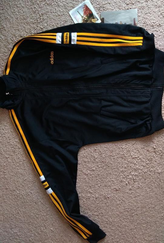 Винтаж adidas кофта мастерка спортивная s - Фото 3
