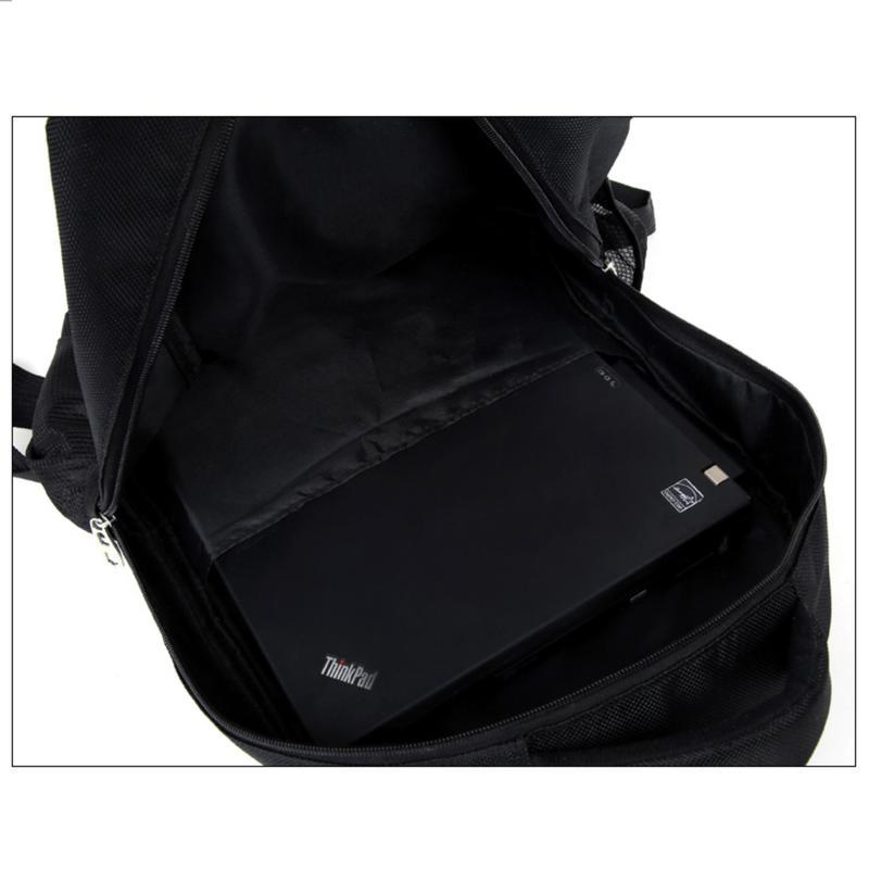 Мужской рюкзак DengSiya 5841, черный для города и школы - Фото 5