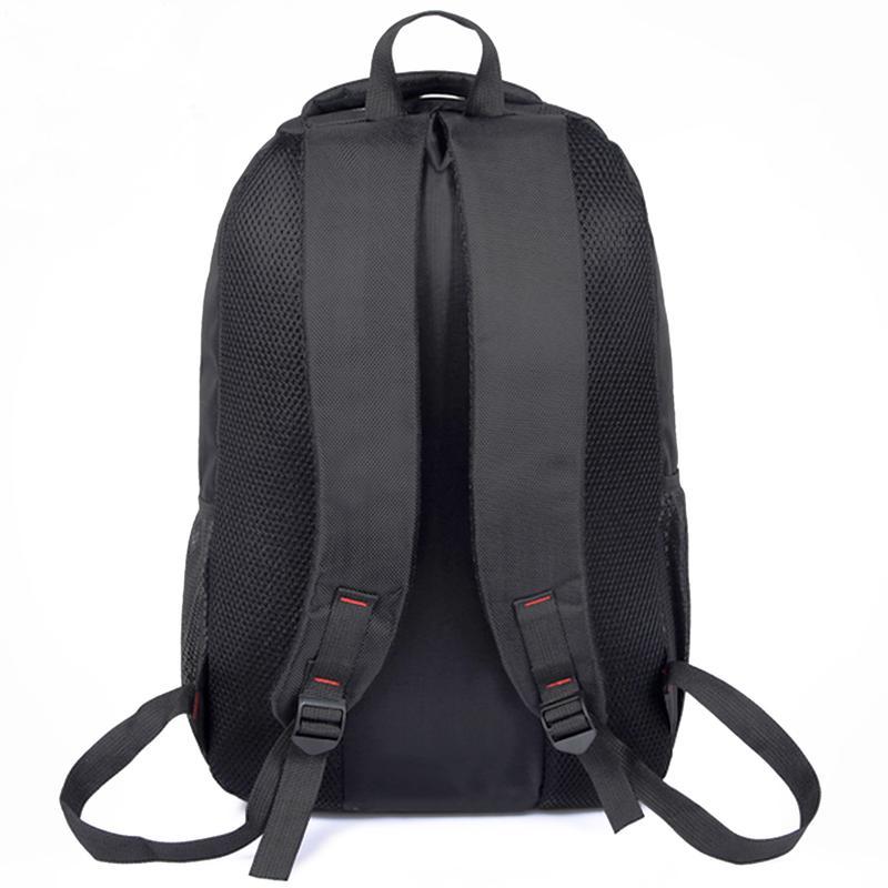 Мужской рюкзак DengSiya 5851, черный для города и школы - Фото 4