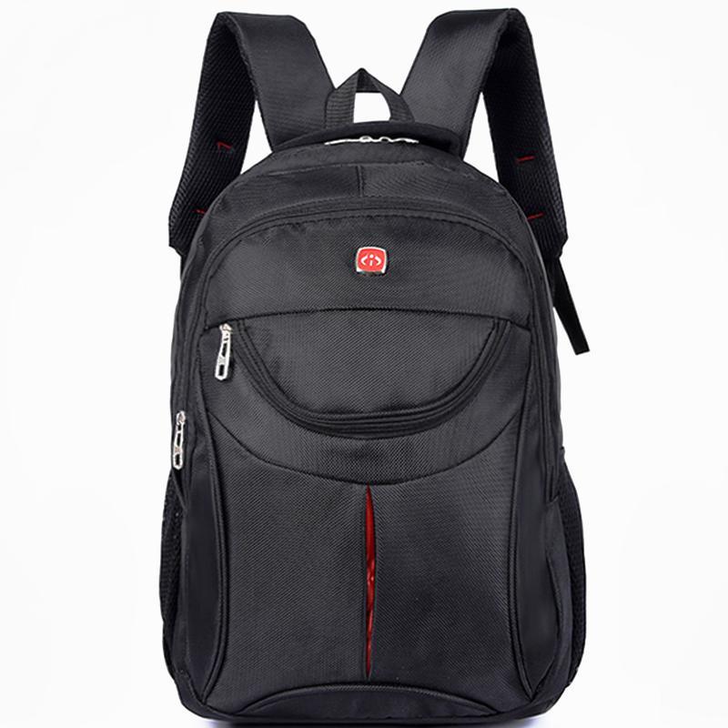 Мужской рюкзак DengSiya 5851, черный для города и школы