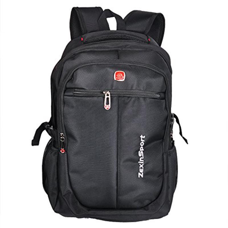 Мужской рюкзак Zhierxin 8824, черный для спорта, отдыха, школы
