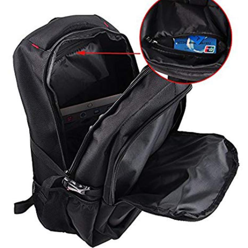 Мужской рюкзак Zhierxin 8824, черный для спорта, отдыха, школы - Фото 6