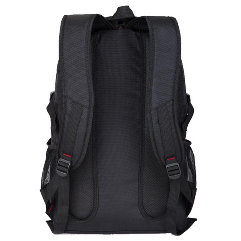 Мужской рюкзак Zhierxin 8824, черный для спорта, отдыха, школы - Фото 5