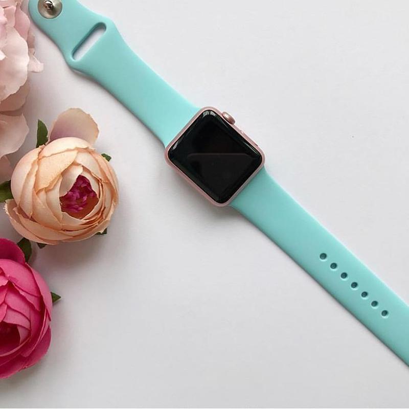 Ремінець силіконовий sport band для годинника аpple watch