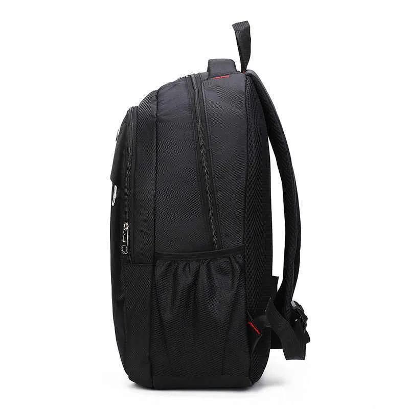 Мужской рюкзак DengSiya 8896, черный для школы, учебы, работы - Фото 5
