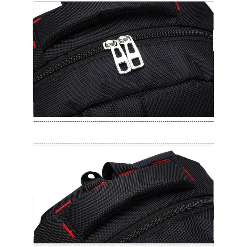 Мужской рюкзак DengSiya 8896, черный для школы, учебы, работы - Фото 12