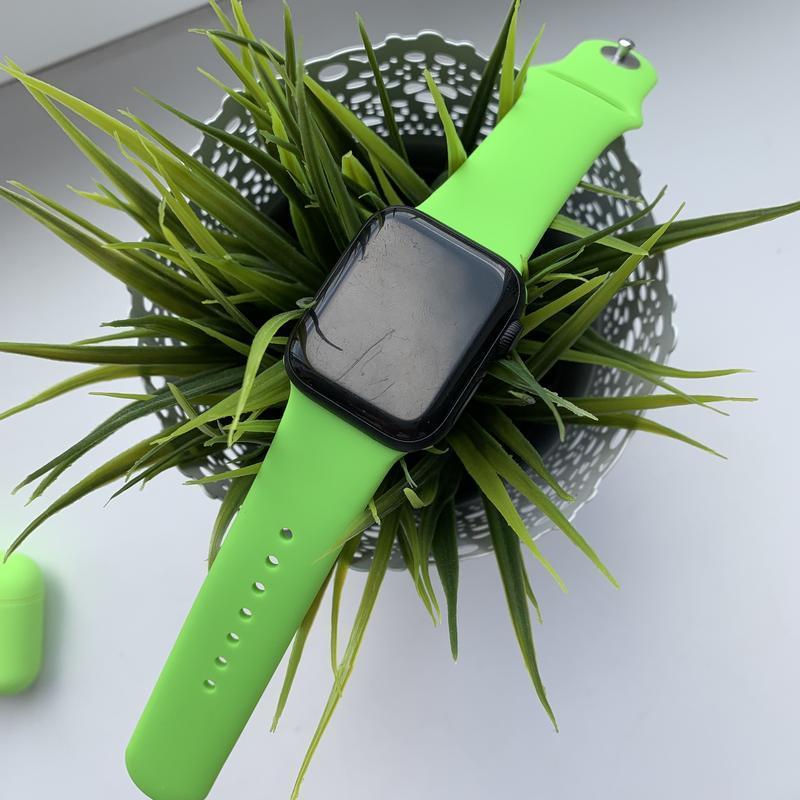 Силіконовий спортивний ремінець sport band для годинника apple...