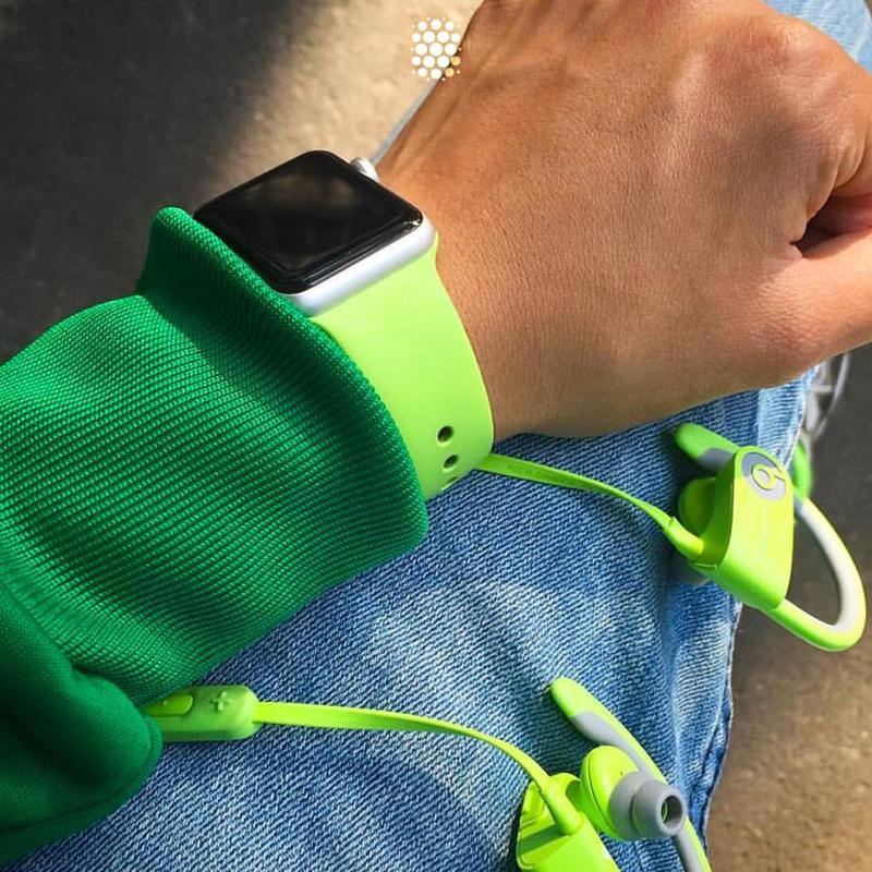 Силіконовий спортивний ремінець sport band для годинника apple... - Фото 4
