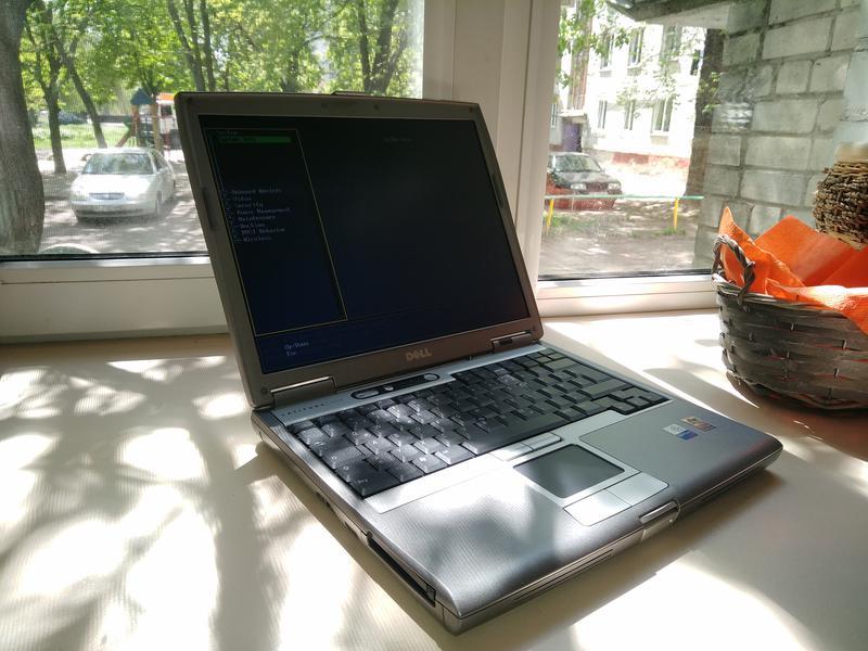 Ноутбук Dell Latitude D610 PP11L (Intel/RAM 2Gb/АКБ 1ч.) COM-порт