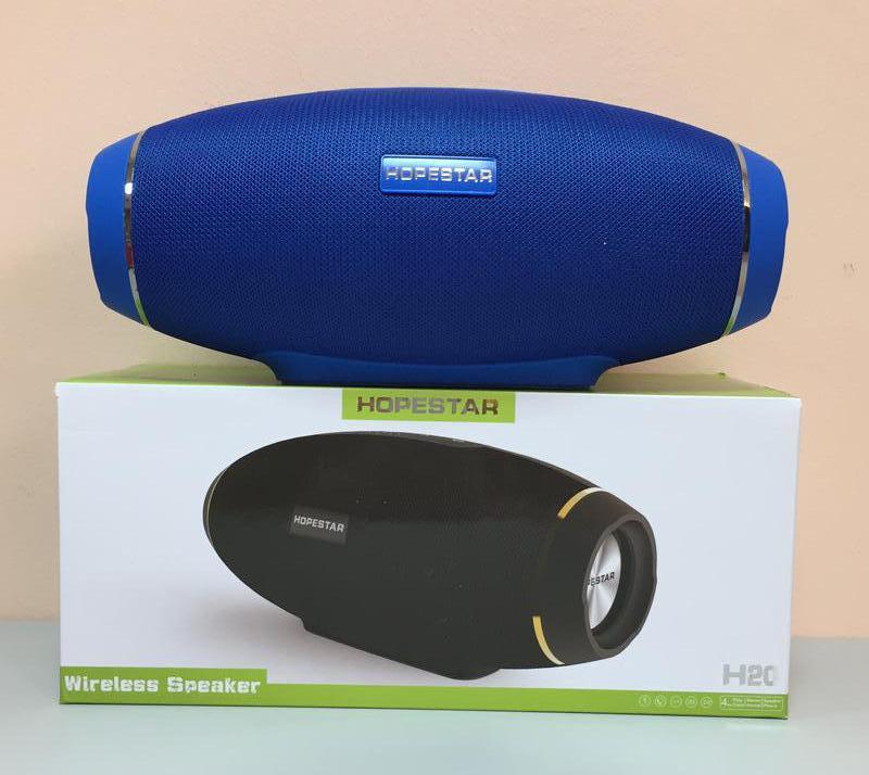 Колонка Bluetooth HOPESTAR H20 Blue