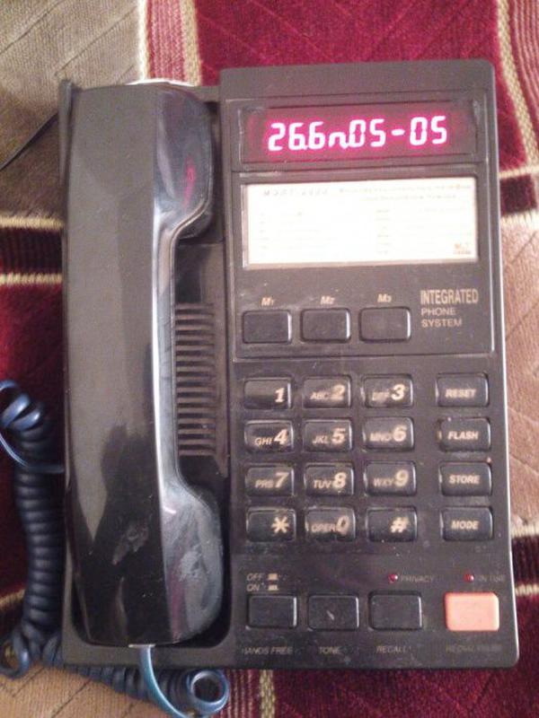 """Телефон с АОН """"Мэлт-2000"""""""