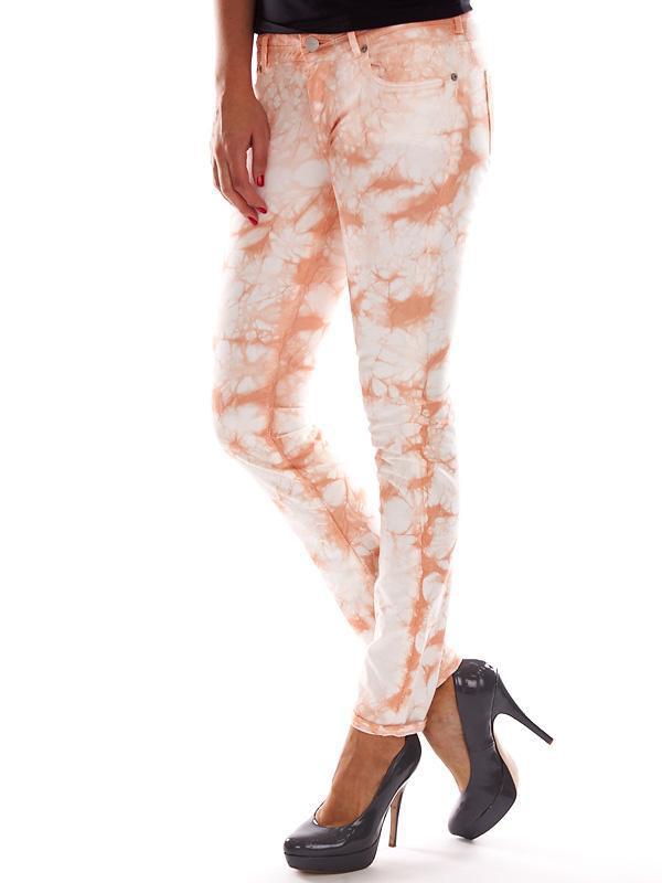 Натуральные джинсы-варенки с разводами дорогого бренда maison ...