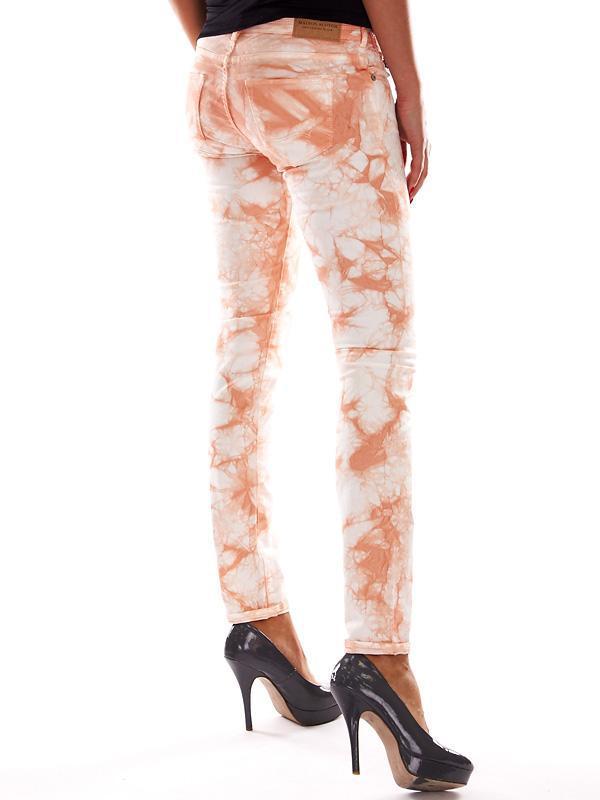 Натуральные джинсы-варенки с разводами дорогого бренда maison ... - Фото 2