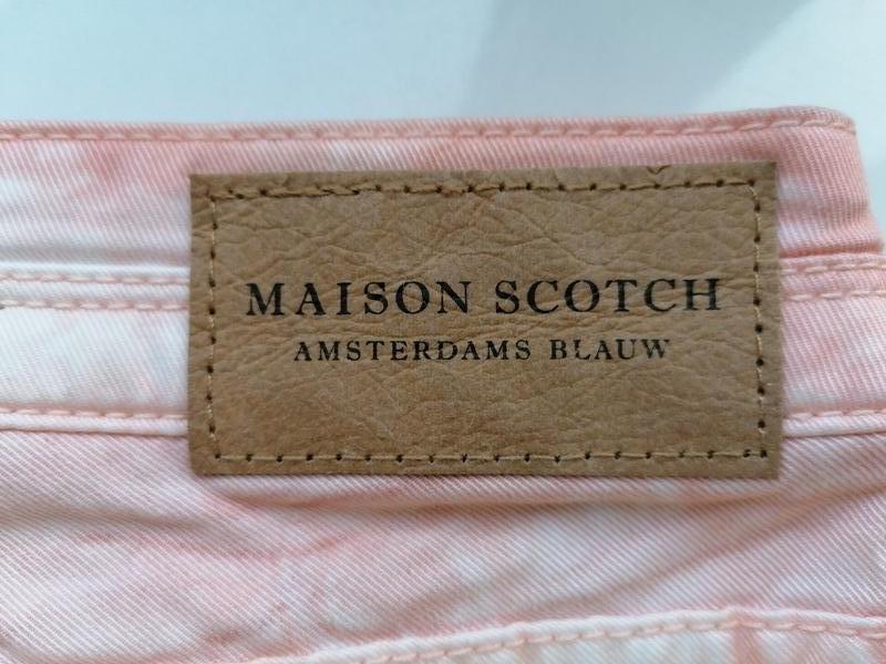 Натуральные джинсы-варенки с разводами дорогого бренда maison ... - Фото 10
