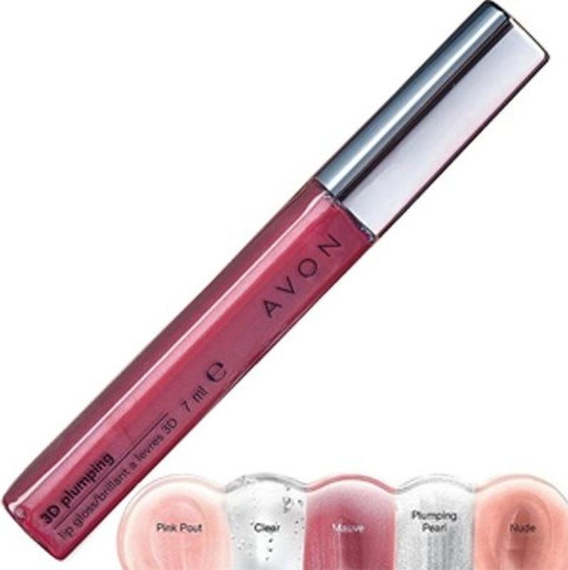 Avon блеск для губ 3d объем купить косметику атопалм