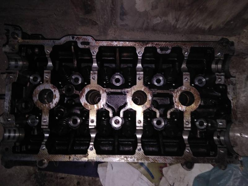 Головка блока рено меган 2 1,6 16 клапанная
