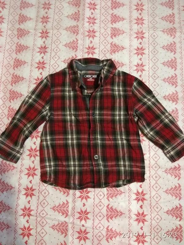 Рубашка cherokee, 12 мес