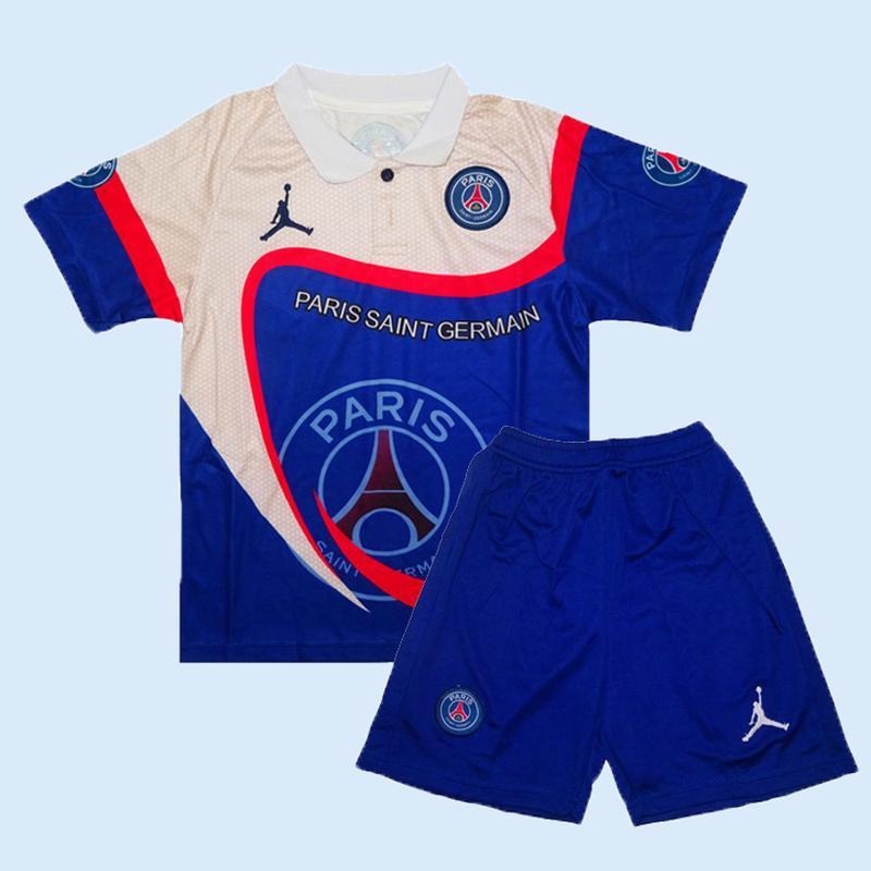 Псж футбольная форма 19-20 air jordan limited edition для дете...