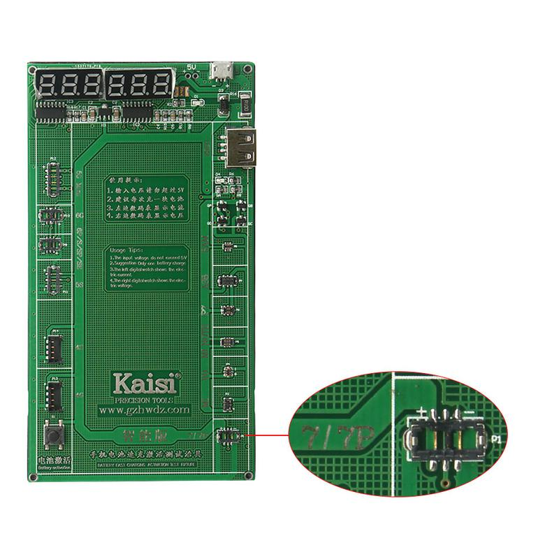 Модуль зарядки и активации аккумуляторов Kaisi 9202+ с кабелями - Фото 4