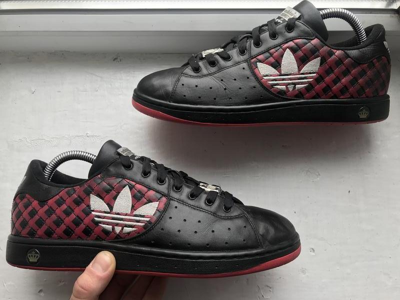 Adidas respect me 40p кожаные кроссовки
