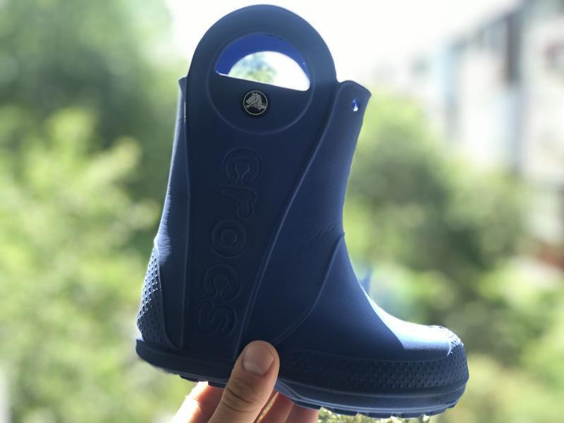 Crocs резиновые сапоги на дождь