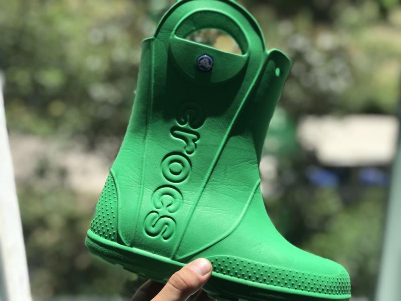 Crocs резиновые сапожки