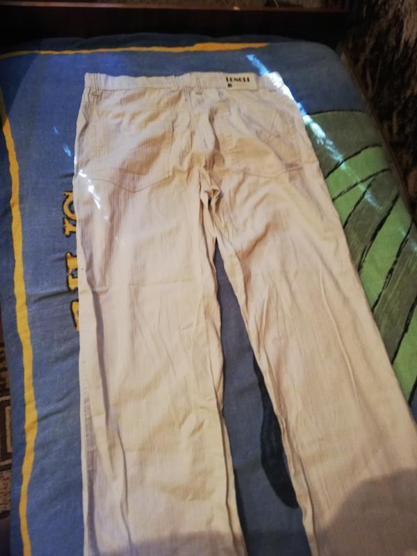 Летние классические светлые джинсы longli w34 l34. - Фото 2