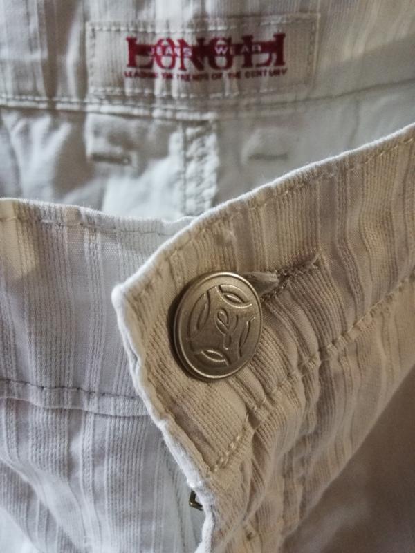 Летние классические светлые джинсы longli w34 l34. - Фото 3