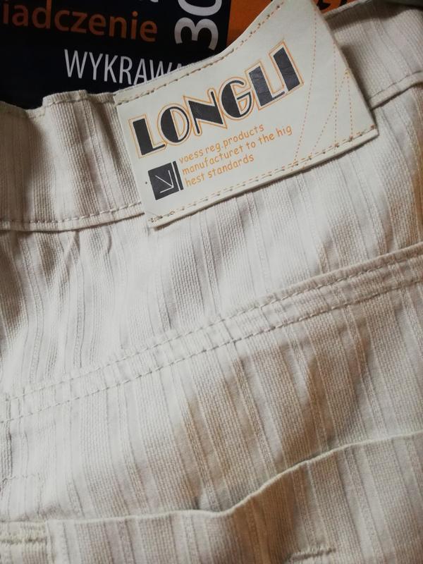Летние классические светлые джинсы longli w34 l34. - Фото 4