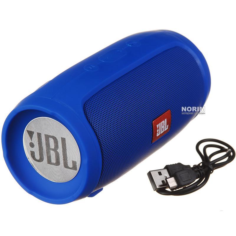 Портативная блютуз колонка JBL Charge 3 MINI колонка с USB,SD,FM - Фото 4