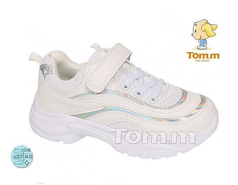 Белые кроссовки для девочки качественные том.м - Фото 5
