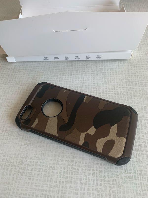 Чехол для iphone 5, 5s, SE камуфляж/милитари