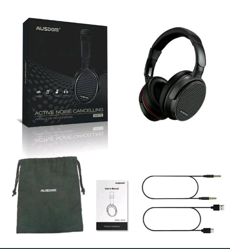 Беспроводные наушники Bluetooth AUSDOM ANC7S с актив. шумоподавле - Фото 2