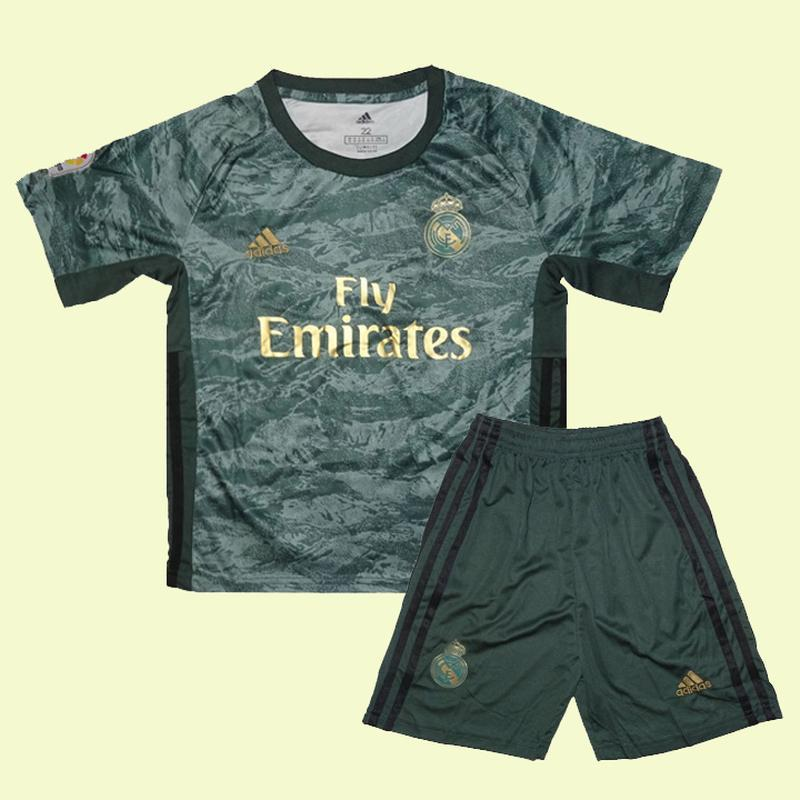 Футбольная форма вратаря реал мадрид 19-20 adidas выездная для...