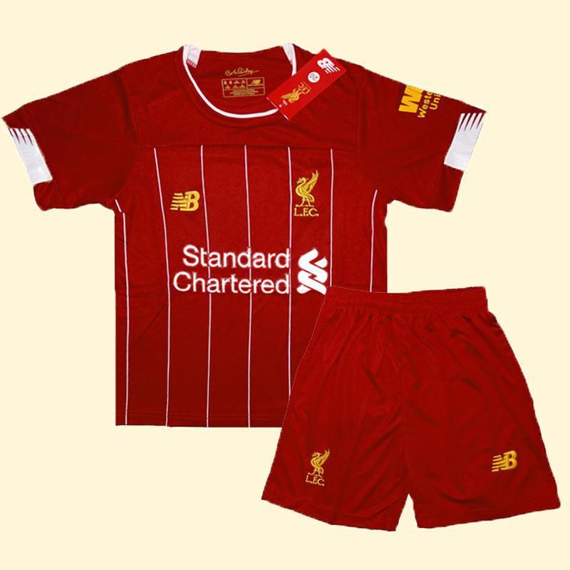 Футбольная форма ливерпуля 19-20 для детей домашняя new balanc...