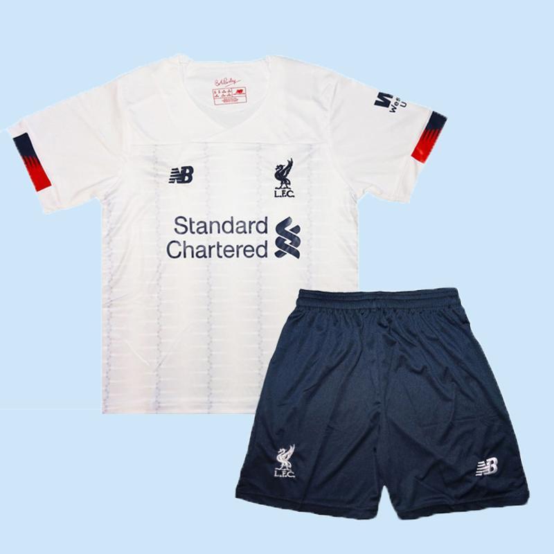 Футбольная форма ливерпуля 19-20 для детей выездная new balanc...