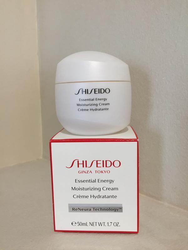 Shiseido essential energy moisturizing cream увлажняющий энерг...