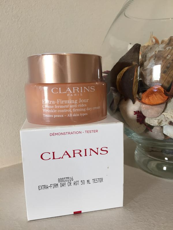 Clarins extra-firming day cream дневной крем для лица