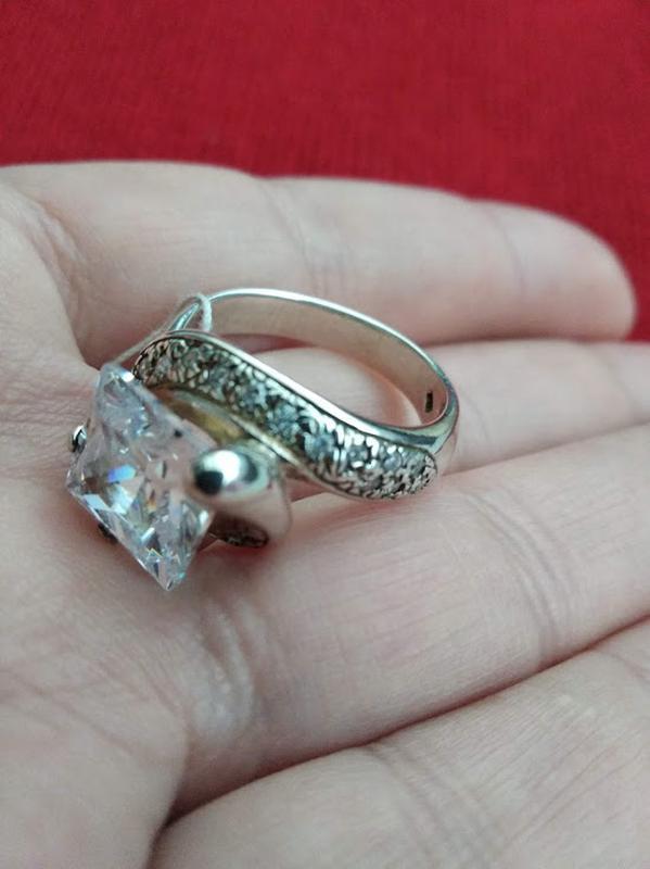 Серебрянный перстень размер 18,5
