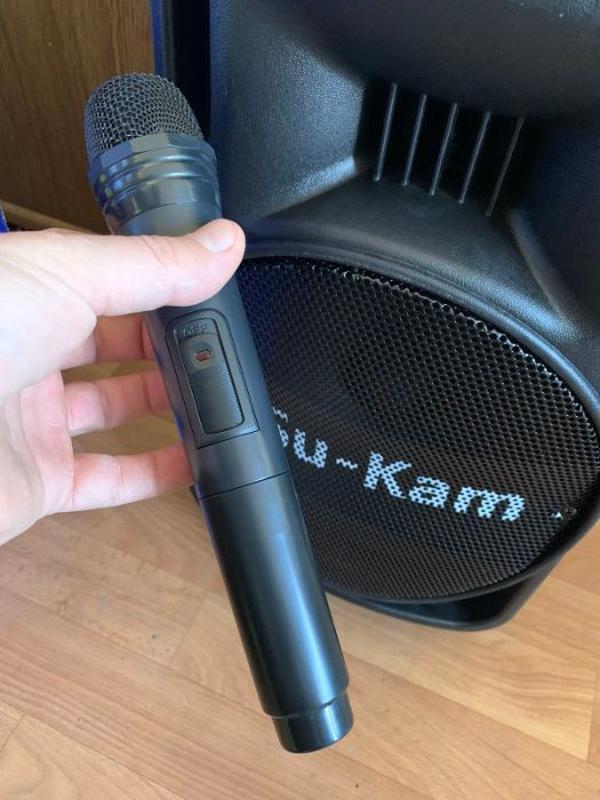 Мощная Беспроводная Bluetooth колонка UKC BT10A + Микрофон - Фото 2