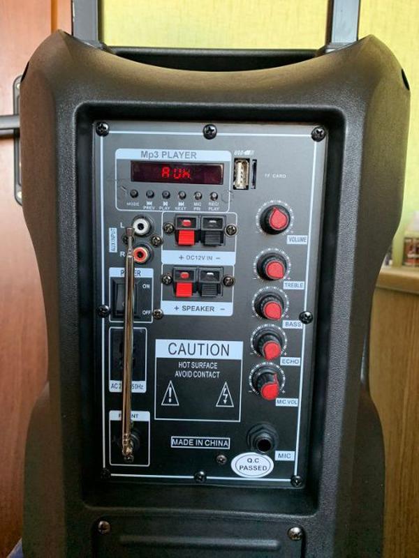 Мощная Беспроводная Bluetooth колонка UKC BT10A + Микрофон - Фото 3