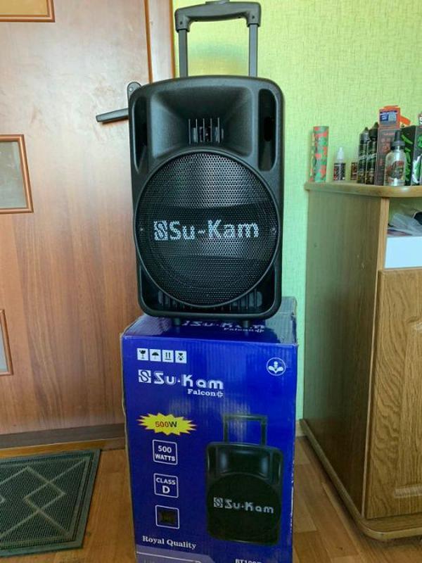 Мощная Беспроводная Bluetooth колонка UKC BT10A + Микрофон - Фото 4