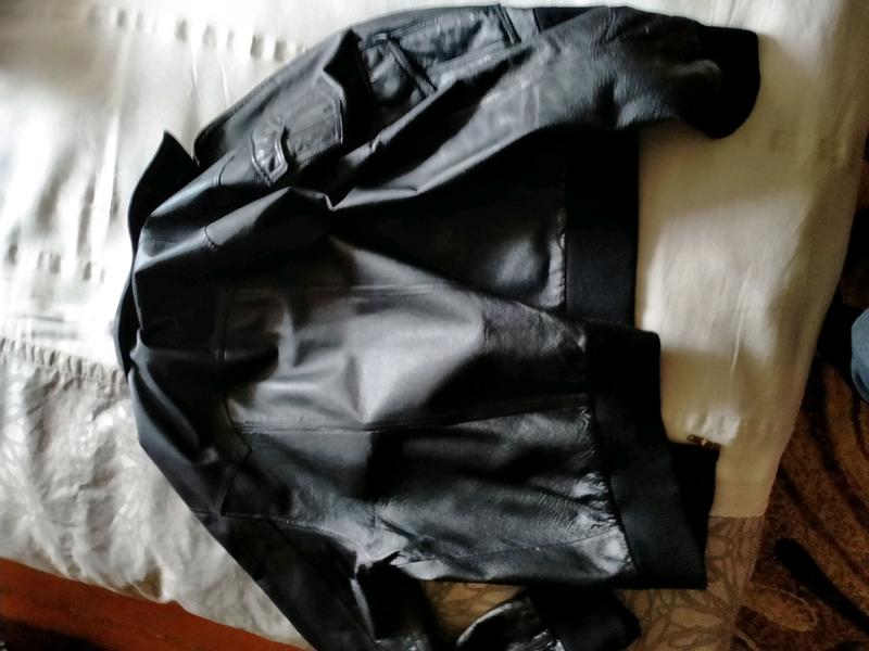 Кожаная куртка мужская - Фото 6