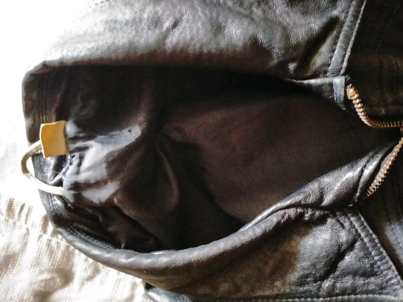 Кожаная куртка мужская - Фото 4