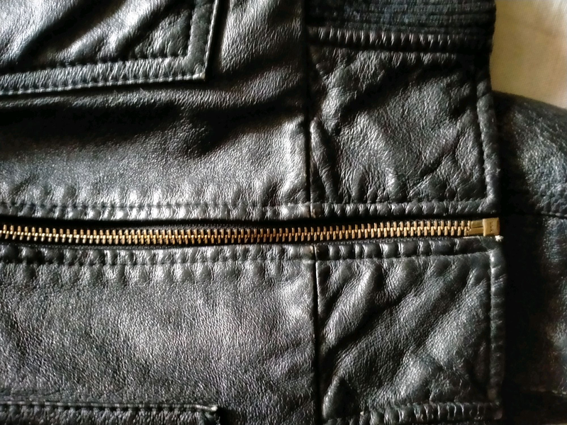 Кожаная куртка мужская - Фото 2