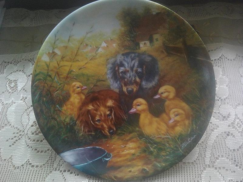 Коллекционная настенная декоративная тарелка