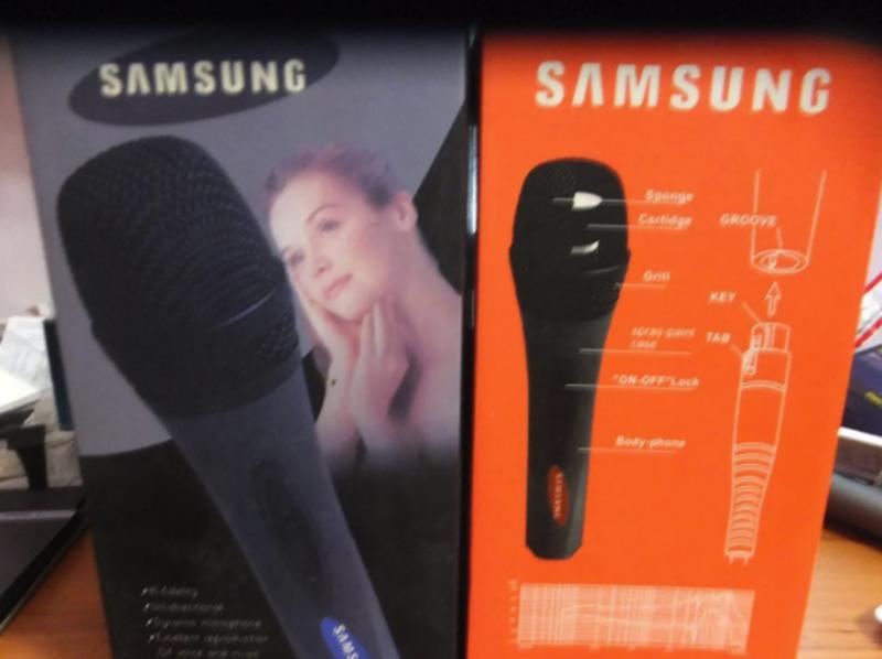 Микрофон для караоке Samsung DM-A688