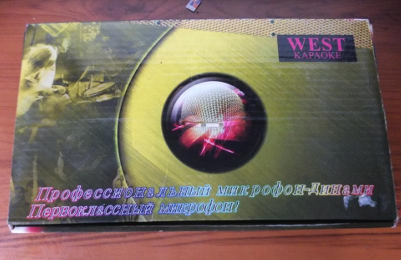 Микрофон для караоке WEST DM-593 -металл! - Фото 2