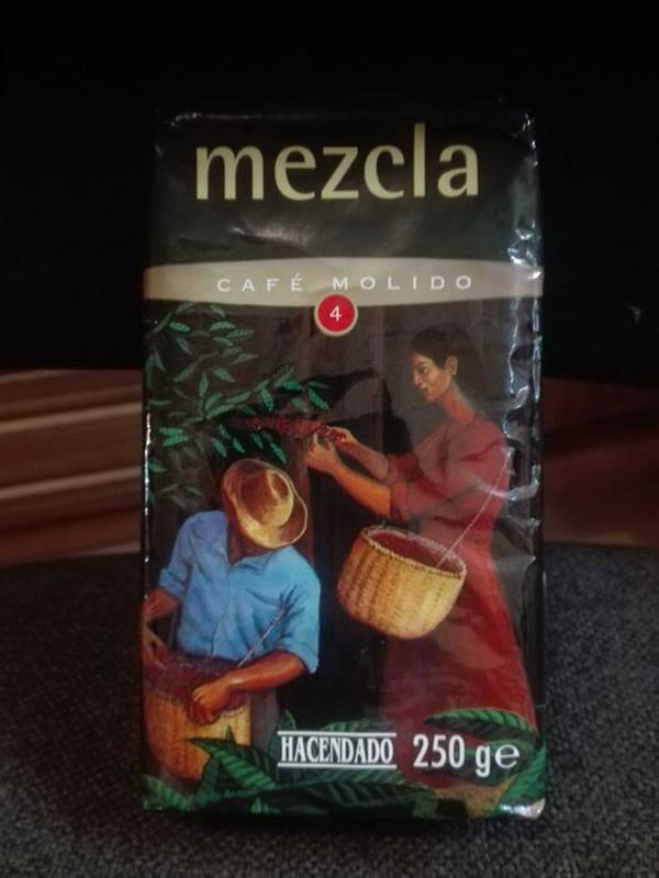 Кофе Hacendado молотый Испания